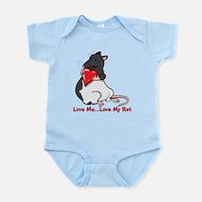Love My Rat Infant Bodysuit