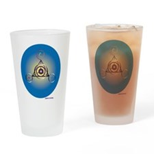 Barbury Castle Crop Circle Drinking Glass