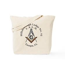 Hillsborough Lodge No. 25 Tote Bag