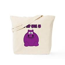 Too Hippo Tote Bag