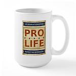 Pro Life Large Mug