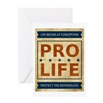 Pro Life Greeting Card