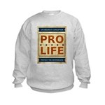 Pro Life Kids Sweatshirt