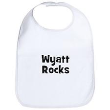 Wyatt Rocks Bib