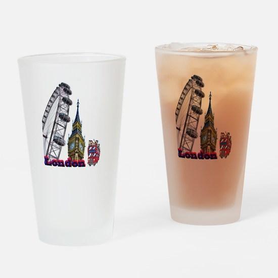 London Eye Drinking Glass