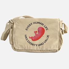 Every Human Life Messenger Bag