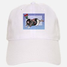Mistletoe Sweater Rattie Baseball Baseball Cap