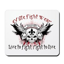 Live to Fight Mousepad
