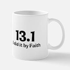 13.1 I did it by Faith Mug
