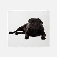 Pug 2 Throw Blanket