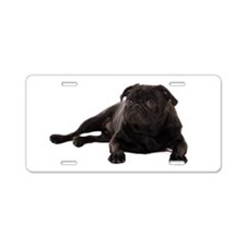 Pug 2 Aluminum License Plate
