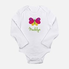 Madelyn The Butterfly Long Sleeve Infant Bodysuit