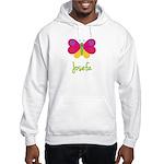 Josefa The Butterfly Hooded Sweatshirt