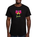 Josefa The Butterfly Men's Fitted T-Shirt (dark)