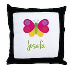 Josefa The Butterfly Throw Pillow