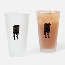 Pug 5 Drinking Glass
