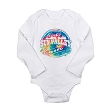 Sun Valley Old Circle Long Sleeve Infant Bodysuit