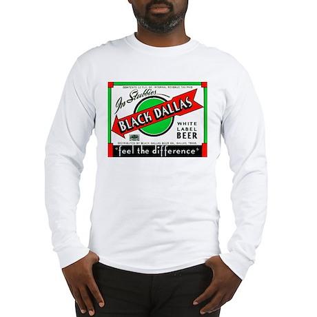 Texas Beer Label 2 Long Sleeve T-Shirt