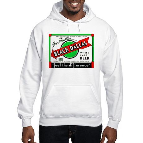 Texas Beer Label 2 Hooded Sweatshirt