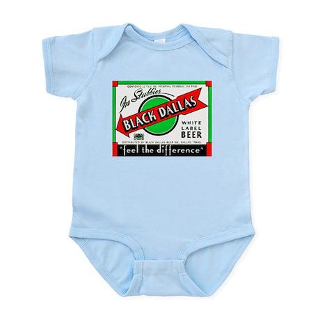 Texas Beer Label 2 Infant Bodysuit