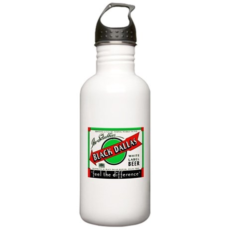 Texas Beer Label 2 Stainless Water Bottle 1.0L