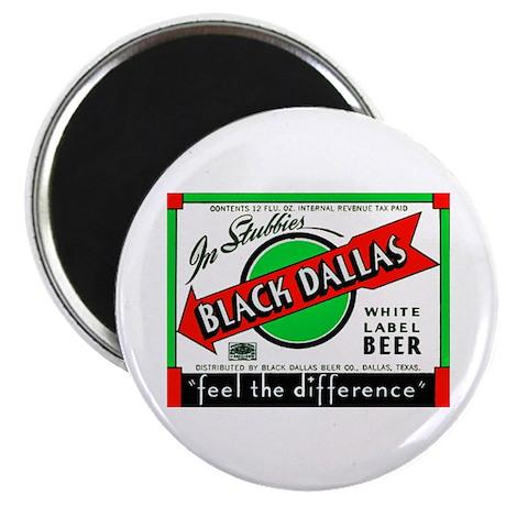 Texas Beer Label 2 Magnet