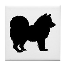 Chow Chow Silhouette Tile Coaster