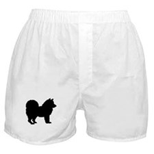 Chow Chow Silhouette Boxer Shorts