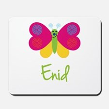 Enid The Butterfly Mousepad