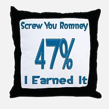 Cute Welfare president Throw Pillow