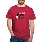 CUSTOM - Russian - Papa Bear - Dark T-Shirt