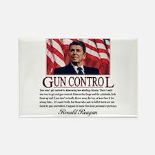 Gun Control Rectangle Magnet (10 pack)