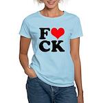 Fucking love Women's Light T-Shirt