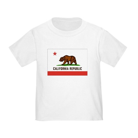 Flag of California Toddler T-Shirt