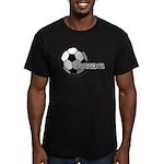 I love futbol Men's Fitted T-Shirt (dark)