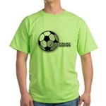 I love futbol Green T-Shirt