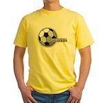 I love futbol Yellow T-Shirt