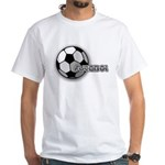 I love futbol White T-Shirt