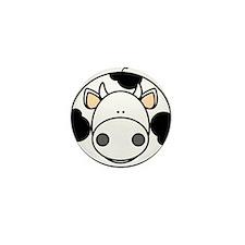 Cow Mini Button