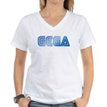 Gega Women's V-Neck T-Shirt