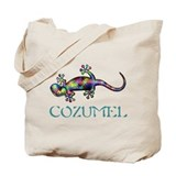Cozumel Regular Canvas Tote Bag