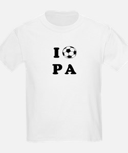 Pennsylvania soccer Kids T-Shirt
