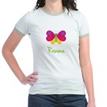 Rowena The Butterfly Jr. Ringer T-Shirt