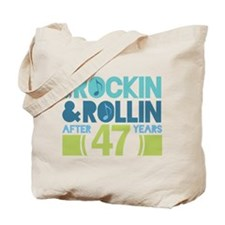 47th Anniversary Rock N Roll Tote Bag