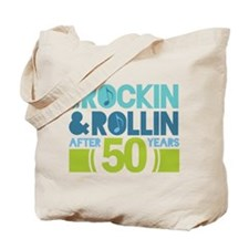 50th Anniversary Rock N Roll Tote Bag