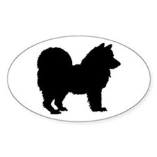 Chow Chow Silhouette Decal
