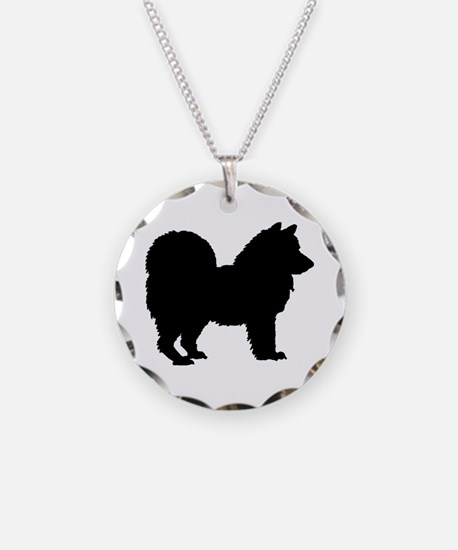 Chow Chow Silhouette Necklace
