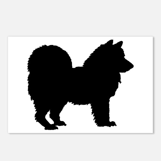 Chow Chow Silhouette Postcards (Package of 8)