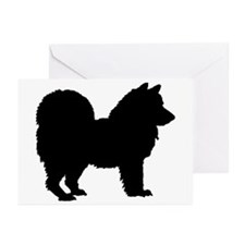 Chow Chow Silhouette Greeting Cards (Pk of 10)