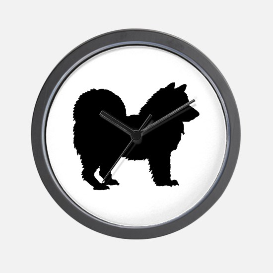 Chow Chow Silhouette Wall Clock